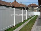 easily assembled vinyl fence/ pvc ranch fence/ pvc cerca de rancho