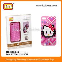 LOZ DIY diamond blocks Mobile phone case for Iphone 5/5s