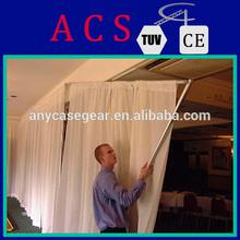 Beautiful ! ACS pipe and drape for wedding/telescopic pipe and drape /pipe and drape for event