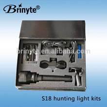 1000 lumen powerful hunting kits tactical mounted led gun light