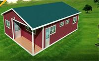 shock resistance modern caravan hut nice looking prefabricated home