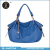 Ladies Style Solid Double Handle Cheap Fashion Bag