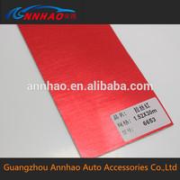 Chrome Brushed Car Wrap Vinyl Film Red 1.52*30m Size