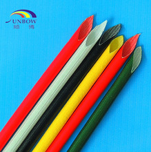 UL listed FIber Glass Sleeving Green Colour Straw Type