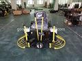 macchina per pavimenti in calcestruzzo liscio cemento spatola con robin subaru double padelle