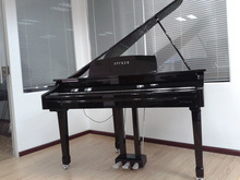 Digital Piano Factory 88 keys MIDI Black Polish Digital Grand Piano HUANGMA HD-W086 brass continuous piano hinges