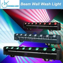 Hot Sale 8 x 10W Cree LED Beam Wall Wash move head lights