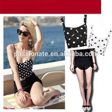 2014 whited dots www sexy com trendy teen bikini swimwear