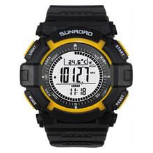 Multifunctional Corporates digital compass, altimeter, barometer, thermometer, air pressure trend fishing barometer watch