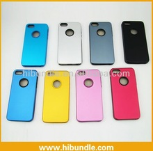 2014 Lightweight silicon inside aluminum case for iphone 5, for iphone 5 smart case, ultra thin case for iphone 5