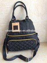 BSCI Factory Hot sell Trendy brand lady Denim handbags