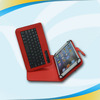 Best Sell Promotion usb leather tablet keyboard case for 7 8 9 10 inch