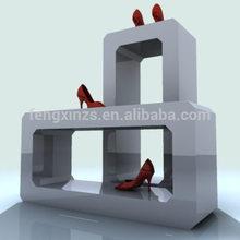 2014 ENRICH wood shoe display/shoe display design /shop shoe display