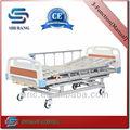 ( ce، iso الموافقة) sj-mm003 كرنك سرير العيادة الطبية 3 الميكانيكية، 3-- manivela cama دي المستشفى دليل