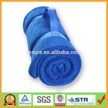 Roll Up Fleece blanket with carry handle