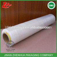 high quality transparent stretch scrap plastic film roll