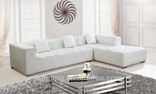 LK-3569 lowest price rustic style furniture corner sofa