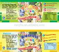 De promoción profesional adhesiva de impresión color de la etiqueta etiqueta, de alta calidad a prueba de agua logotipo personalizado etiqueta del rollo