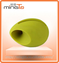 Wholesale Cute portable small Silicon Egg/Basketball/Football/Rugby Mini audio mobile phone Speaker for iPhone 4/4S/5/5S