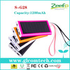 Hot new products for 2014 wholesale alibaba wholesale solar cellphone charger for mobile power bank