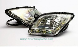 2014 high quality LED DRL Car LED Daylights with led bulb light for Hyundai Verna