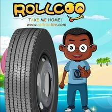 ROLLCOO, TARMAC KING, RC582, Special tread formula and deeper tread depth provide a higher original mileage, TBR,Truck Tire