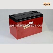 MSDS 12v 120ah battery for solar system