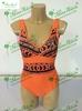 hot fashion tight orange women's sexy bikini