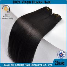 HOT!! 2014 Wholesale price double weft Korea glue hair de francisco