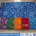 New design factory China personalizado fios tingidos jacquard de algodão toalha de banho vestido