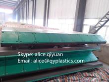 UHMWPE plastic marine fender / bumper face pad/panel, engineering plastic sheet
