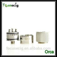 Wholesale 2014 atomzier vaporizer wholesale price ecig 3posts dual coils Orca RDA 2014 new vape mod vase ecig