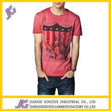 man o-neck 100%cotton t shirts manufacturer