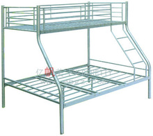 2014 Hot Sale High Quality Pink Loft Bunk Bed with Double Bed