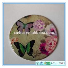 58mm round color epoxy sticker for cosmetic mirror