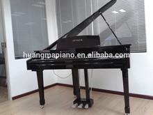Digital Piano Factory 88 keys MIDI Black Polish Digital Grand Piano HUANGMA HD-W086 piano colored hair weft
