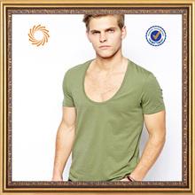 2014 World Cup series wholesale fashion T-shirt OEM Service men deep v-neck t-shirts