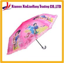 custom print umbrella curved handle umbrella kids umbrella
