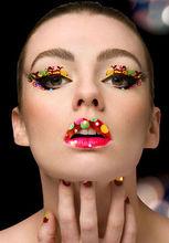 2014 new design fashion lipstick temporary lip tattoo