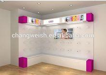 sex underwear display rack corner wall,for men/women fitting
