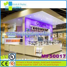 4m*3m Led decoration cake showcase counter top cake display showcase display cake refrigerator showcase