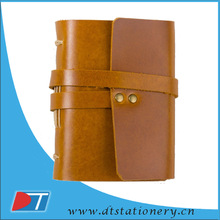 pu leather note book with debossed designs