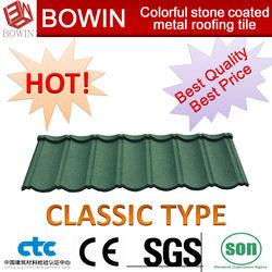 galvanized sheet metal roofing /asphalt roof tile /wood shingle roof