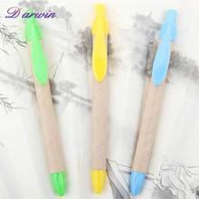 2014 Novel Design Translucent Plastic Ball Pen For Promotional Eco-friendly pen