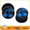 Wholesale body piercing cool ellipse silicone ear tunnel piercing