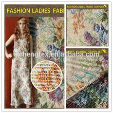 K woman new fashion jacquard fabric jacquard ladies fashion top one