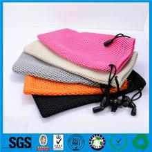 Guangzhou cotton gift bags,nylon mesh drawstring bags