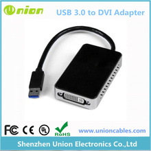 External Video Card Multi Monitor Adapter USB 3.0 to DVI Cable