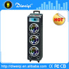 switching portable stereo digital trolley speaker with mixer