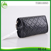 new arrival wholesale exquisite fashion factory women PU black cosmetic bags